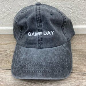 Accessories - Charcoal Game Day Baseball Cap